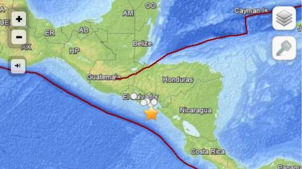 Σεισμός 7,4 Ρίχτερ στο Ελ Σαλβαδόρ - Ενας νεκρός