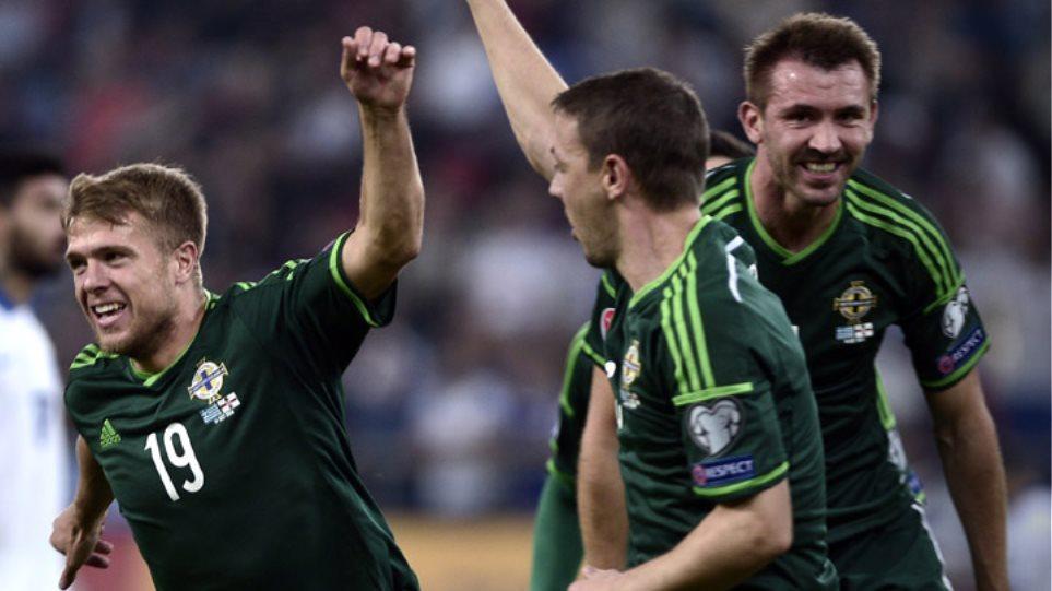 Ήττα-σοκ για την Ελλάδα από την Β. Ιρλανδία με 2-0