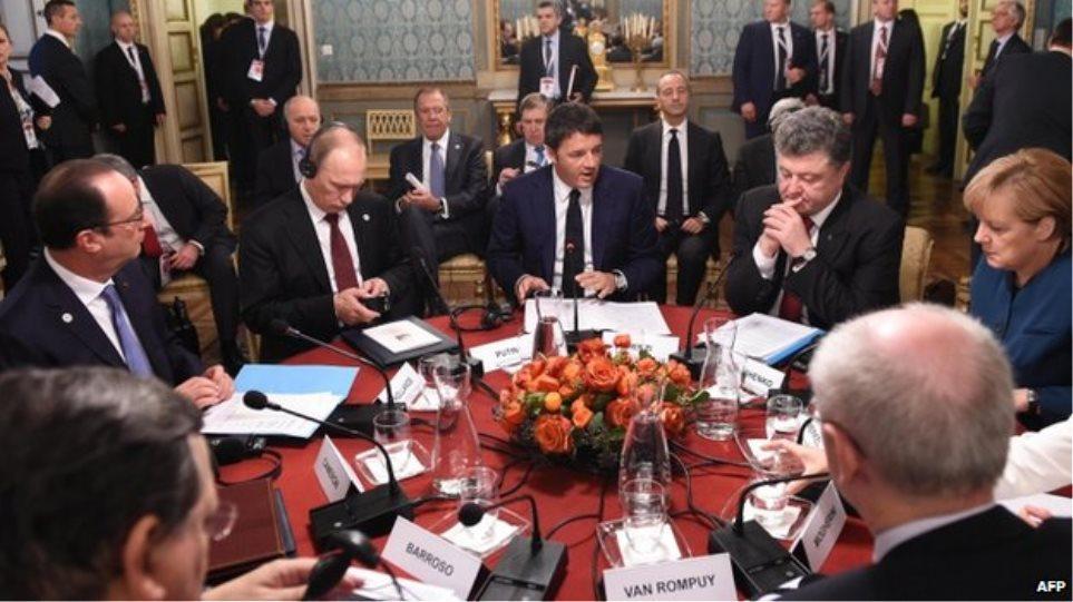 Πούτιν: Καταλήξαμε σε συμφωνία για το φυσικό αέριο «τουλάχιστον για τον φετινό χειμώνα»