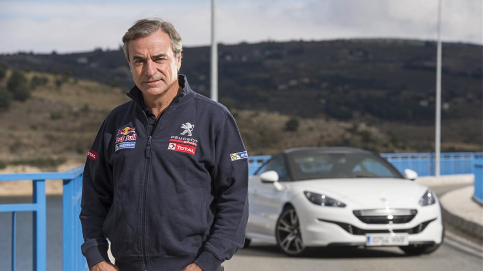 Ο Σάινθ οδηγεί το Peugeot RCZ R