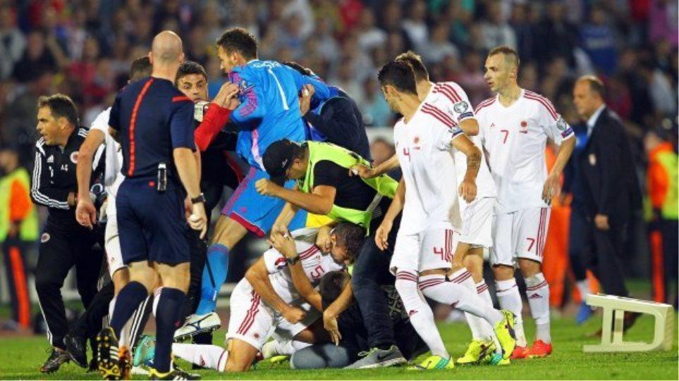 «Σε ουδέτερη έδρα το Σερβία-Αλβανία»