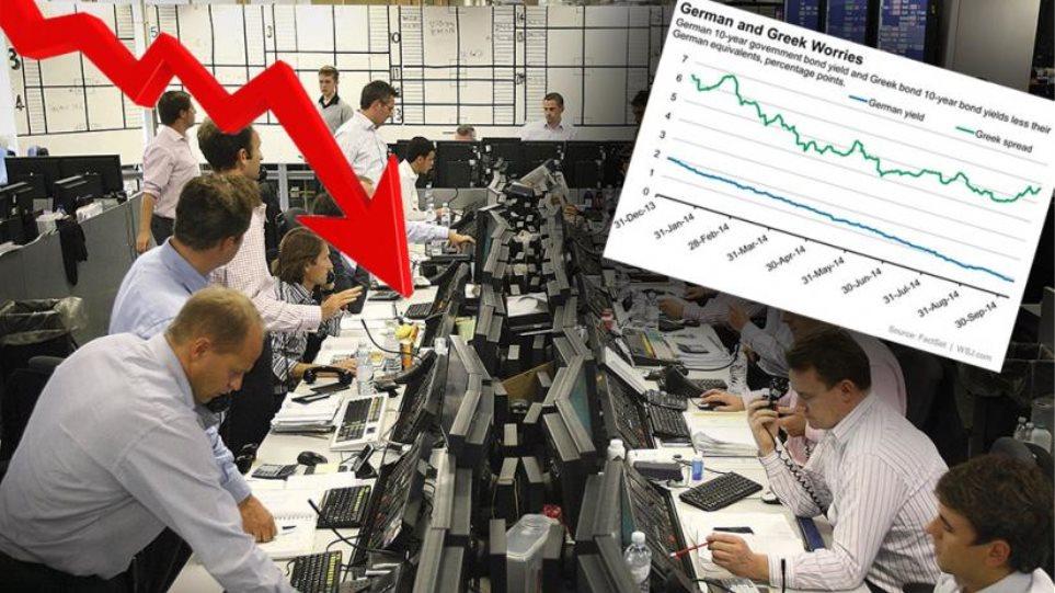 Γιατί οι τραπεζίτες δεν τρομάζουν από την άνοδο των spreads