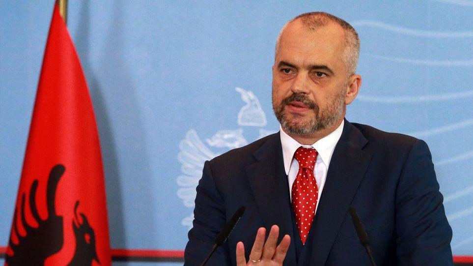 Επιμένει ο Αλβανός πρωθυπουργός: Εφιάλτης της Σερβίας η Μεγάλη Αλβανία
