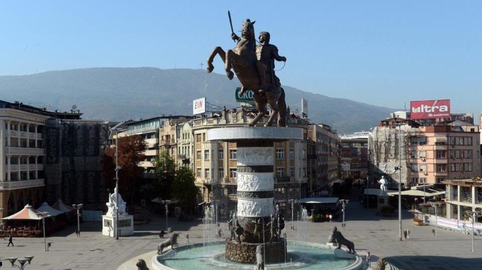 Κέρινα ομοιώματα του Μεγάλου Αλεξάνδρου και του Φιλίππου Β' στα Σκόπια