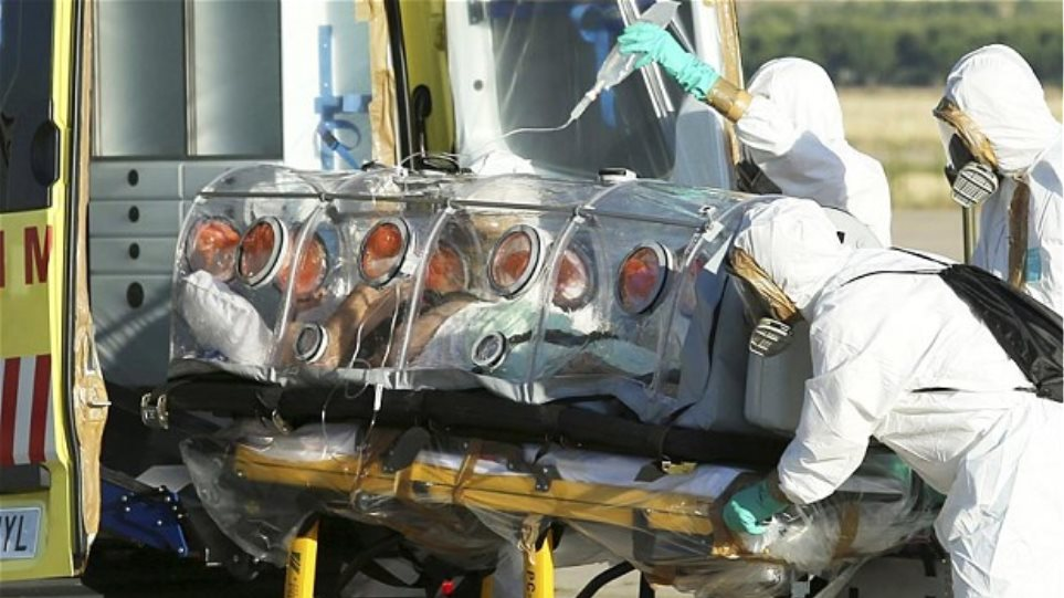 Γλίτωσε από τον ιό Έμπολα η Ισπανίδα νοσοκόμα