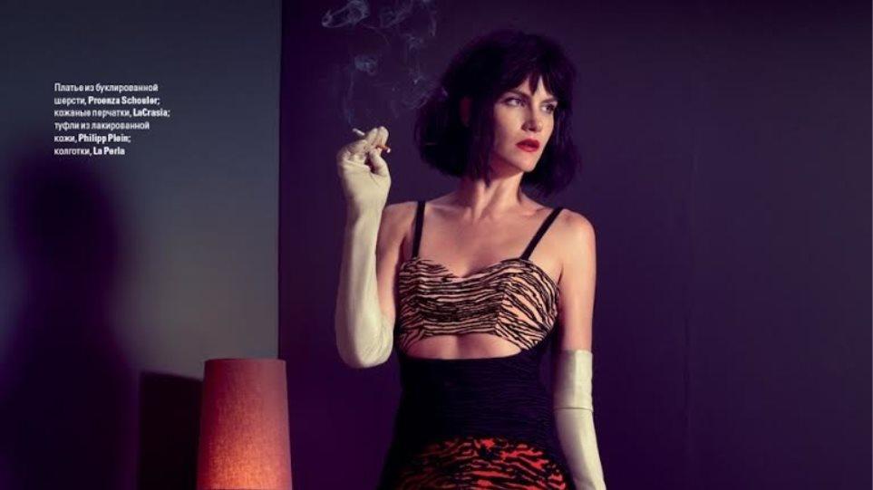 """Missy Rayder: Τόπλες στη """"Vogue"""""""