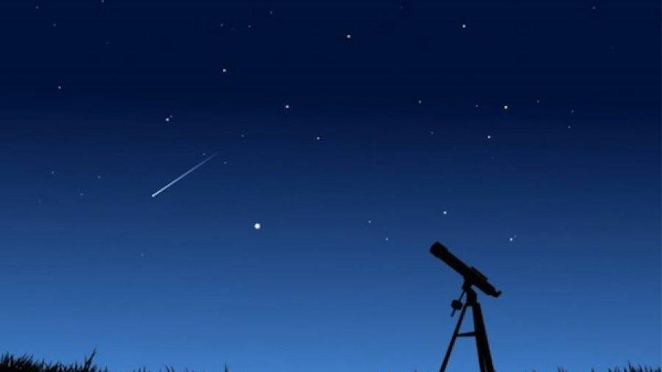Ωριωνίδες: Θα γεμίσει ο ουρανός με πεφταστέρια ξημερώματα Τετάρτης