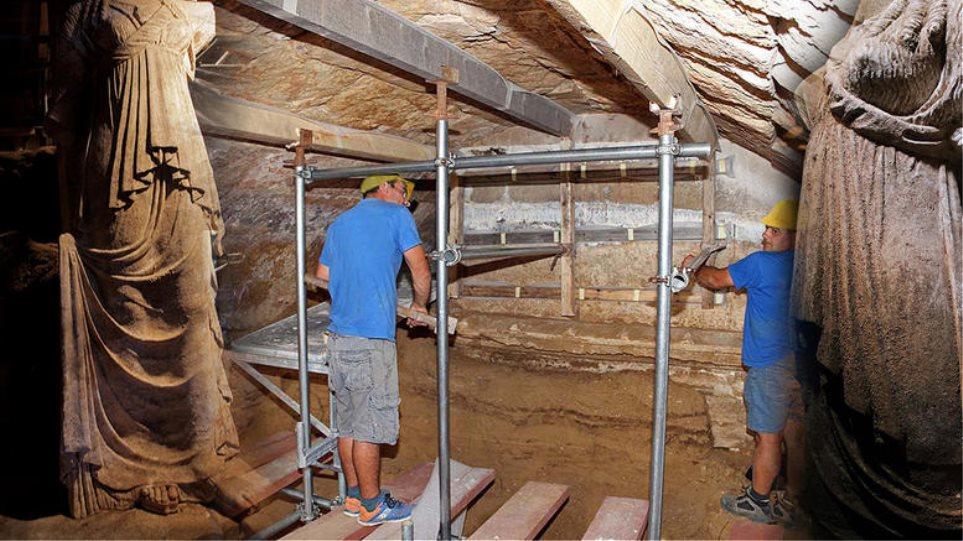 Αμφίπολη: Περίπου 590.000 ευρώ έχουν κοστίσει οι ανασκαφές