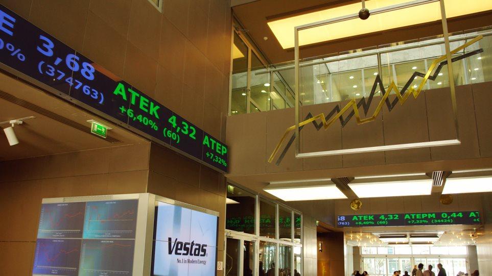Χρηματιστήριο Αθηνών: Θετικό το πρόσημο για τον Γενικό Δείκτη