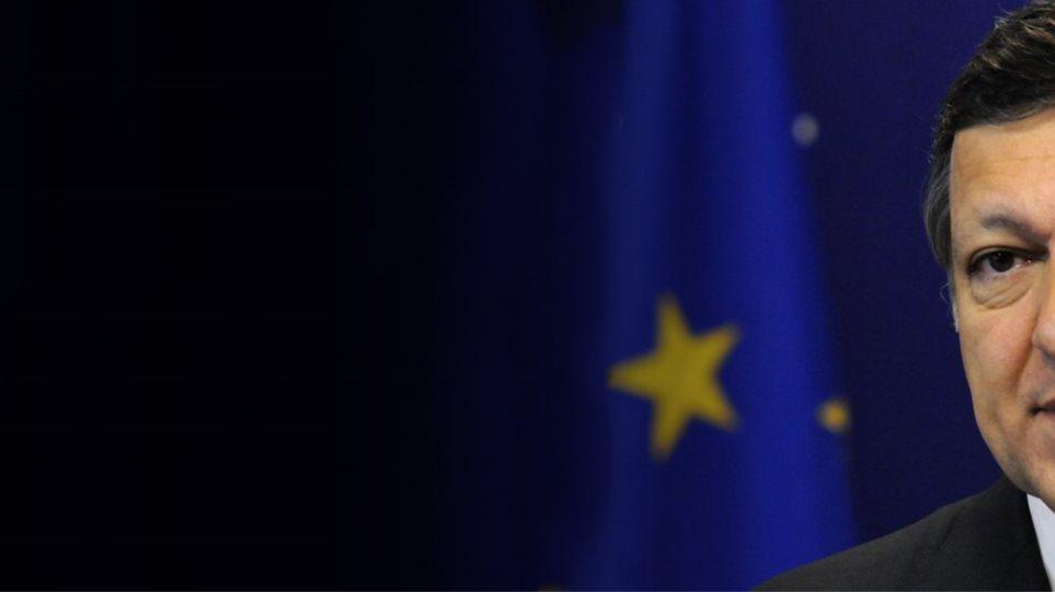 """Μπαρόζο: """"Αν Η Ελλάδα έφευγε από το ευρώ, η οικονομική ζημιά θα επεκτεινόταν σε όλη τη κοινή αγορά"""""""