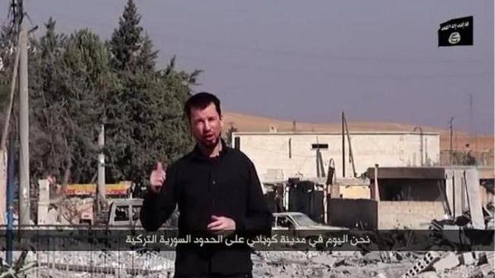 Βίντεο: Σε ρόλο πολεμικού ανταποκριτή στο Κομπάνι για τους τζιχαντιστές ο Τζον Κάντλι