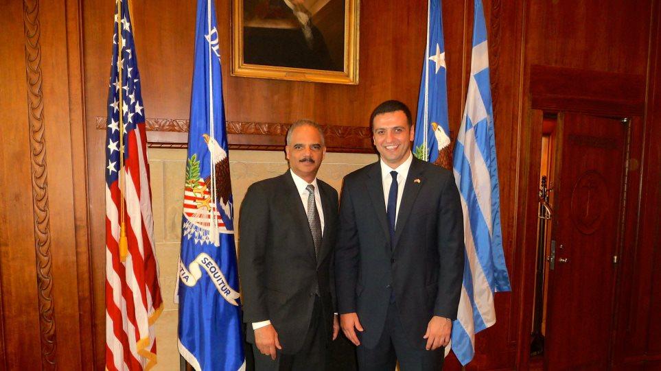 Η Ελλάδα παραμένει μία ασφαλής χώρα, λέει ο Αμερικανός υπουργός Δικαιοσύνης