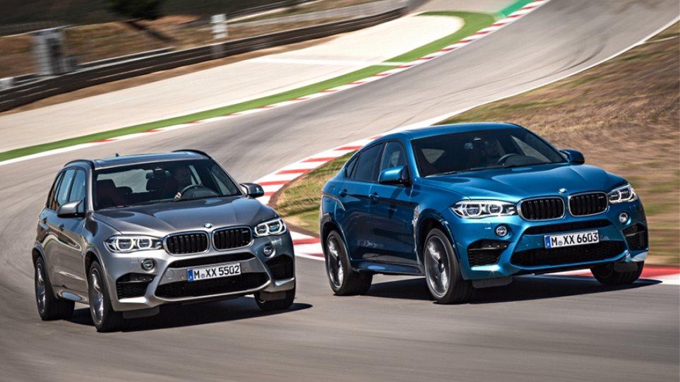 Αυτές είναι οι νέες BMW X5 M και X6 M