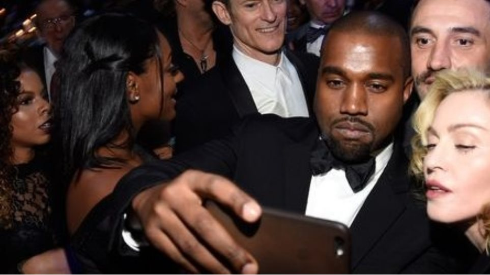 Kanye West - Madonna βγάζουν τη δική τους selfie