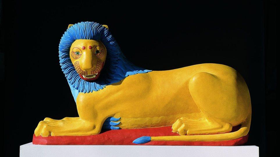 Πώς είναι τα αρχαία γλυπτά... έγχρωμα;