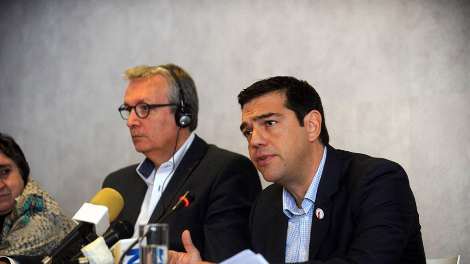 Τσίπρας: Εγγυητής της κοινωνικής, οικονομικής και πολιτικής σταθερότητας ο ΣΥΡΙΖΑ