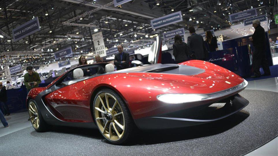 Εξαντλήθηκε πριν κυκλοφορήσει η Ferrari Sergio