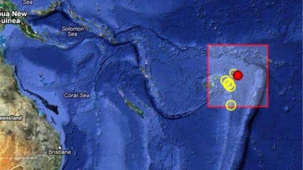 Σεισμός 6,9 Ρίχτερ στα νησιά Φίτζι