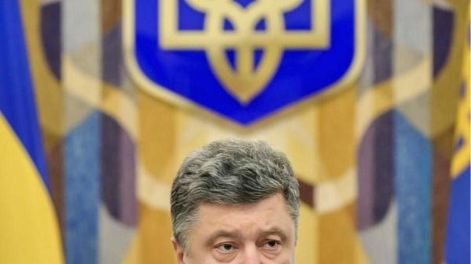 Ουκρανία: «Φάρσα» χαρακτήρισε της εκλογές των φιλορώσων ο Ποροσένκο