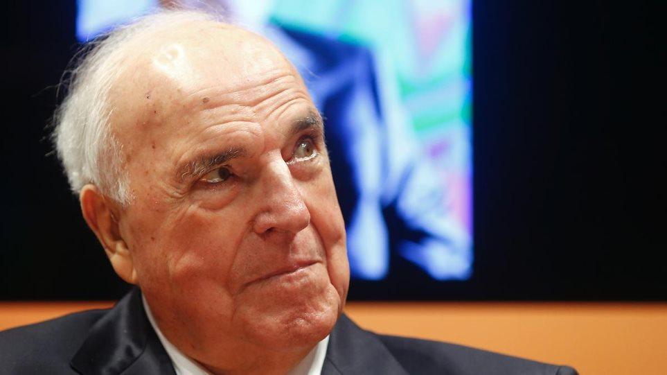 Χέλμουτ Κολ: Η Ελλάδα δεν έπρεπε να ενταχθεί στην Ευρωζώνη