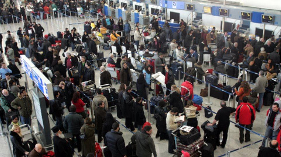 Χωρίς προηγούμενο η επιβατική κίνηση στο Ελ. Βενιζέλος