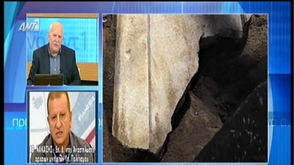 Νακάσης: Κακό ανασκαφικό παράδειγμα η Αμφίπολη