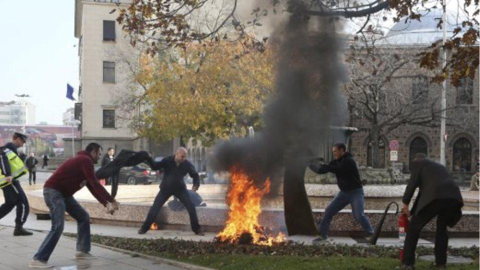 Βουλγαρία: Γυναίκα αυτοπυρπολήθηκε έξω από το προεδρικό μέγαρο