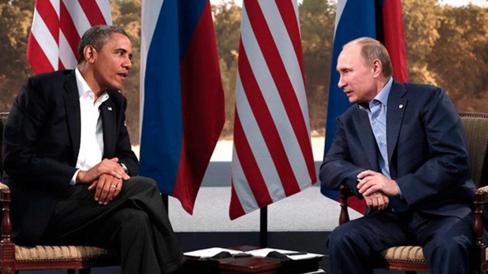 Πιθανή άτυπη συνάντηση Ομπάμα - Πούτιν στη σύνοδο των G20
