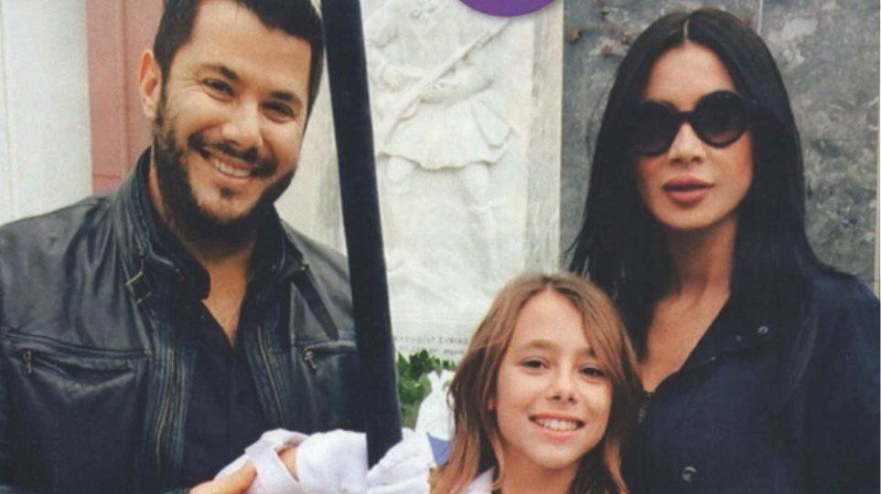 Πάολα: Με κόκκινη γόβα και τον πρώην στην παρέλαση