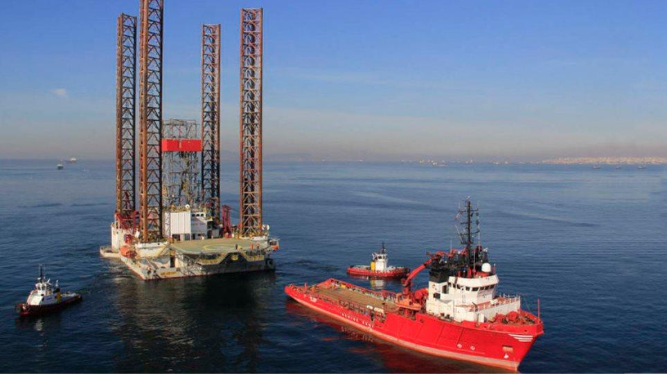 Από την Τουρκία στη Λεμεσό πλατφόρμα πετρελαίου για... επισκευή