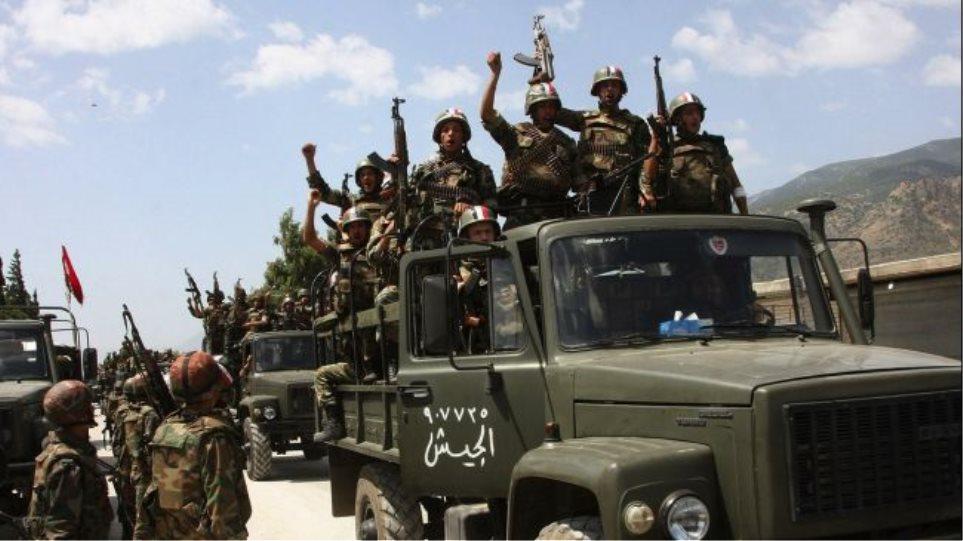 Συρία: Ο στρατός ανέκτησε τον έλεγχο κοιτασμάτων φυσικού αερίου