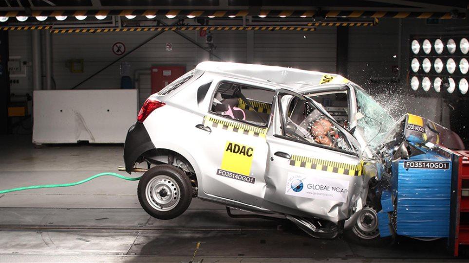 Ποιο αυτοκίνητο δεν πήρε ούτε ένα αστέρι στα crash test;