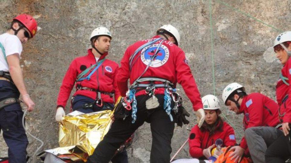 Διάσωση 58χρονου πεζοπόρου στον Όλυμπο - Είχε πέσει σε χαράδρα βάθους 500 μέτρων