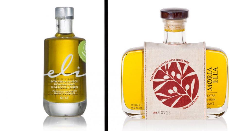 Όταν τα μπουκάλια με τα ελληνικά ελαιόλαδα παραπέμπουν σε συσκευασίες αρωμάτων και ποτών