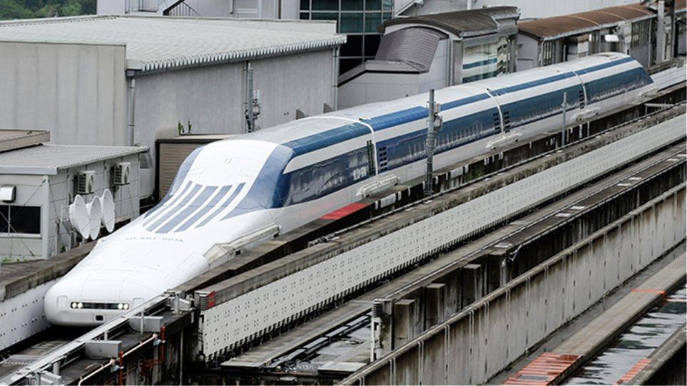Βίντεο: Δείτε τα νέα τρένα στην Ιαπωνία που «πετάνε»!