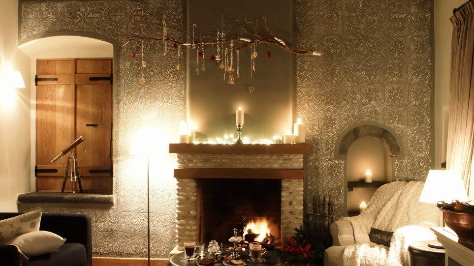 Χριστούγεννα στο βραβευμένο αρχοντικό Kinsterna στην Μονεμβασιά