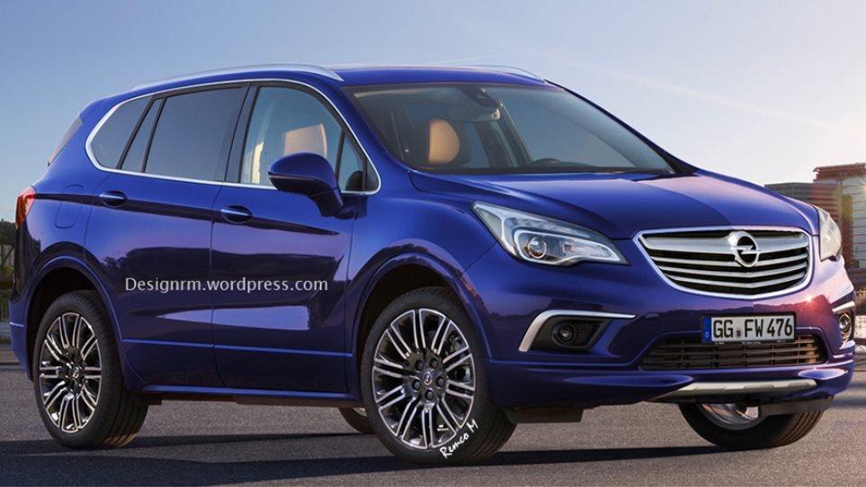 Έρχεται το μεσαίο SUV από την Opel