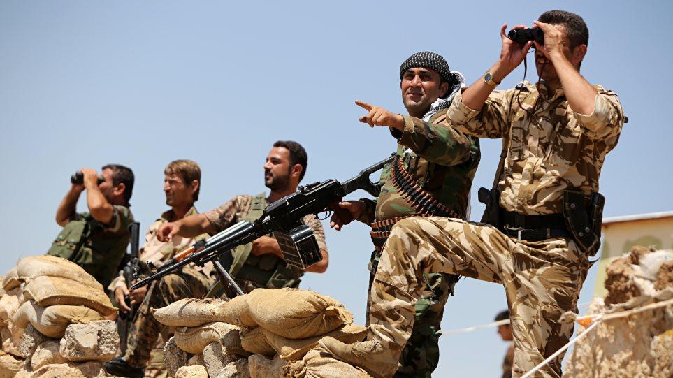 Ιρακινοί Κούρδοι μαχητές εκπαιδεύονται από τον τουρκικό στρατό