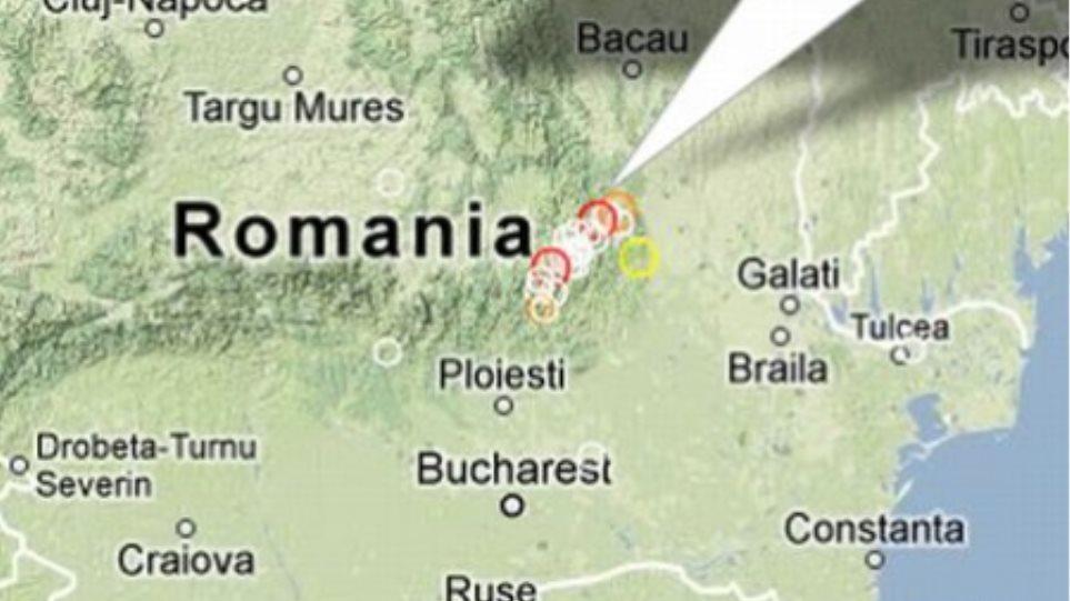 Σεισμική δόνηση 5,6 Ρίχτερ στη Ρουμανία