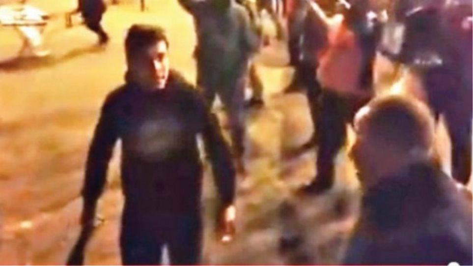 Video ντοκουμέντο με τον δολοφόνο του Σέρβου οπαδού