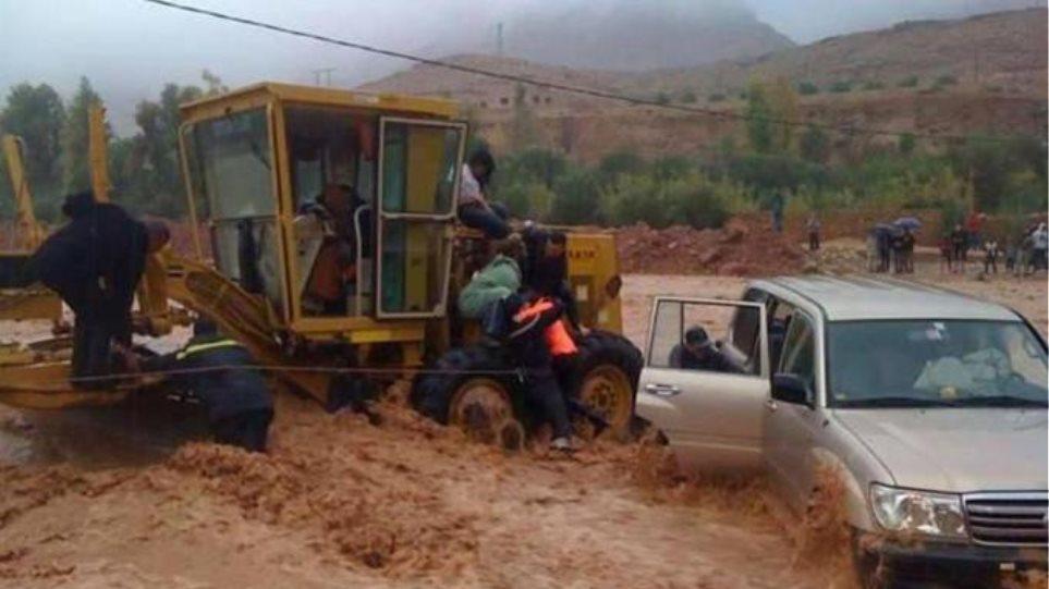 Μαρόκο: 30 νεκροί και δεκάδες αγνοούμενοι από πλημμύρες
