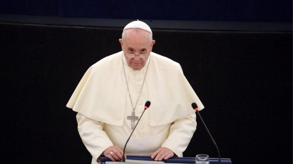 Για τον Πλάτωνα και τον Αριστοτέλη μίλησε ο Πάπας στην Ευρωβουλή!