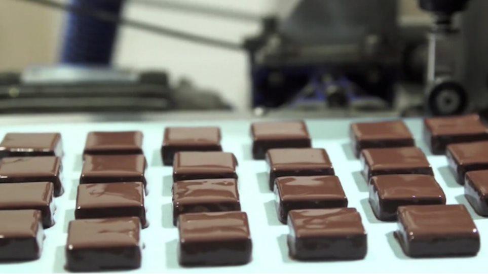 Οργασμός της σοκολάτας
