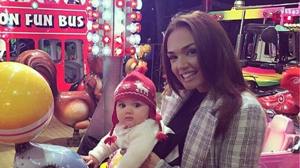 Tamara Ecclestone: Με την κόρη της στη «Winter Wonderland» του Λονδίνου