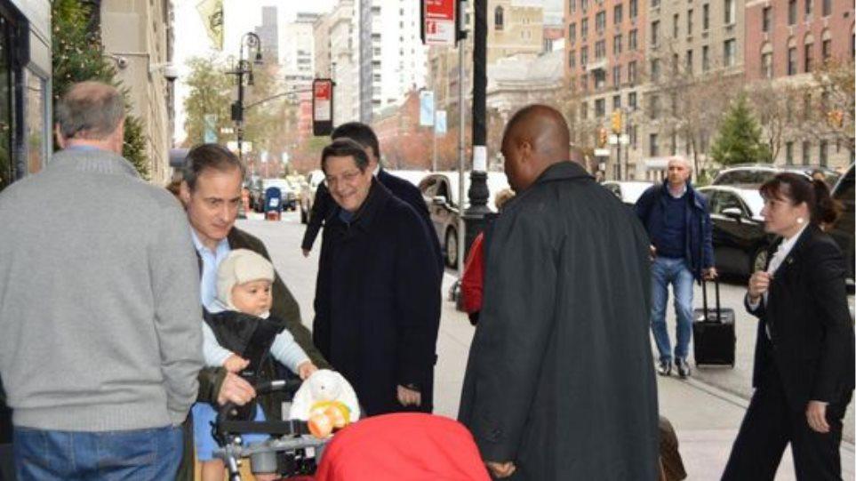 ΗΠΑ: Έφθασε στη Νέα Υόρκη για να χειρουργηθεί ο Νίκος Αναστασιάδης