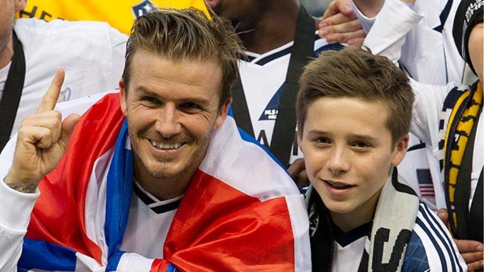 David Beckham: Σοβαρό τροχαίο με το γιο του Brooklyn
