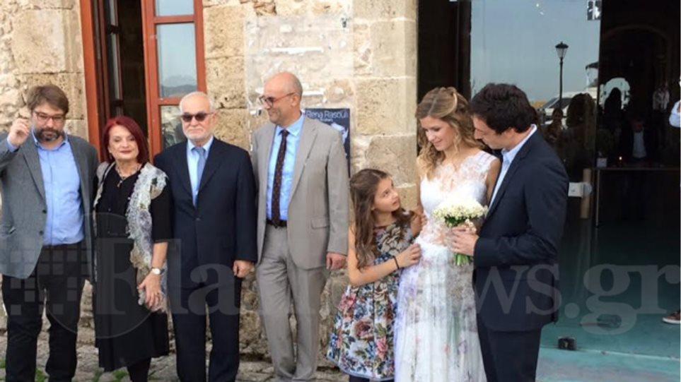 Λαμπερός γάμος στα Χανιά για την κόρη της προέδρου της Apivita