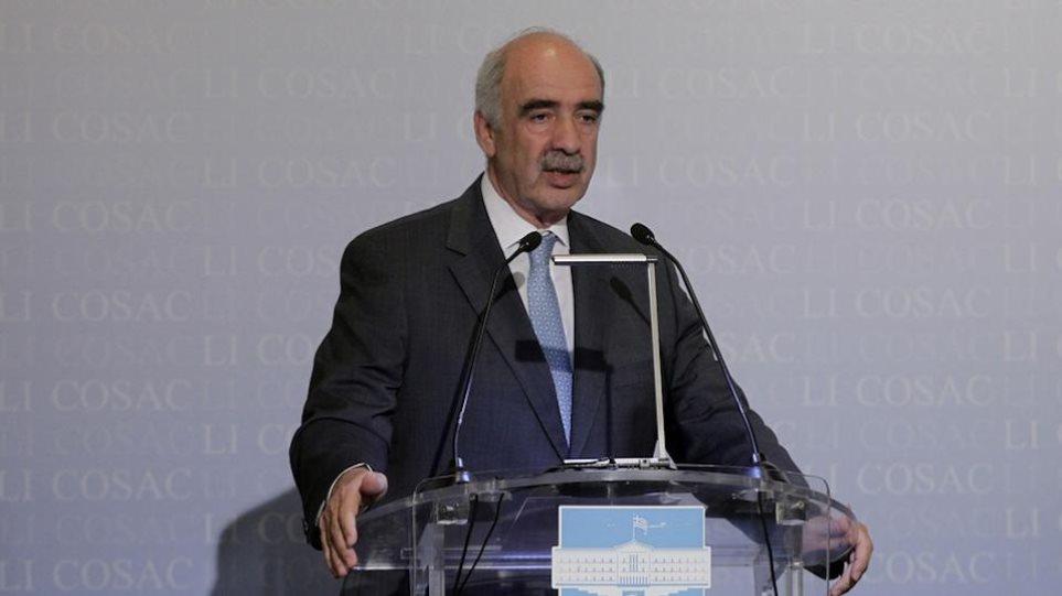 Μεϊμαράκης: Αναγκαία η συνεννόηση για την εκλογή Προέδρου Δημοκρατίας