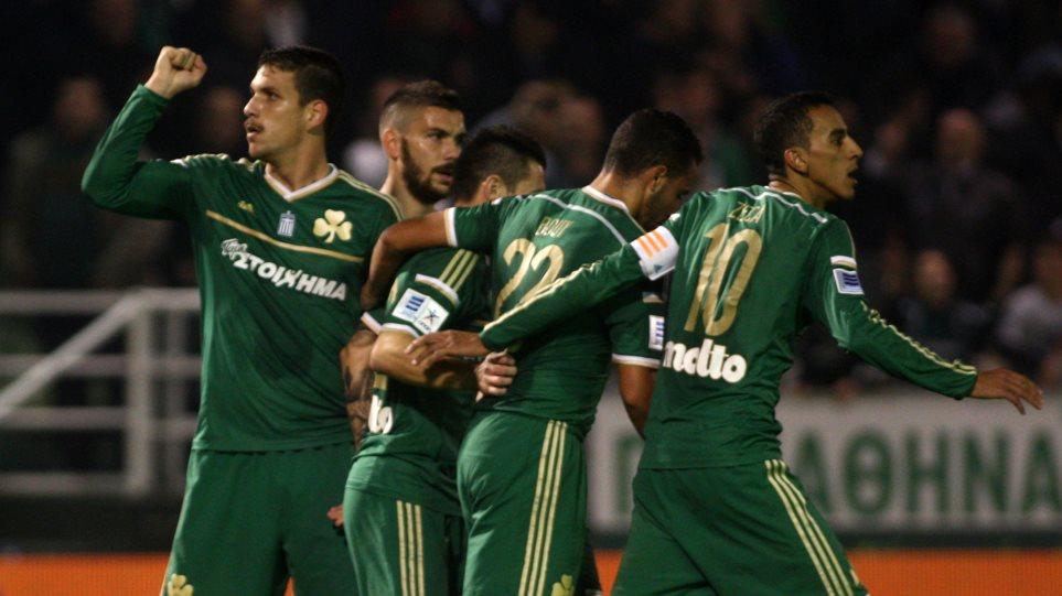 Superleague: Παναθηναϊκός - Βέροια (2-1, τελικό)