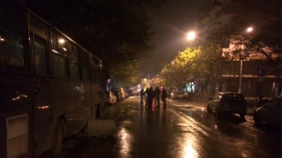 Θεσσαλονίκη: Επίθεση με μολότοφ μπροστά  στο τουρκικό προξενείο